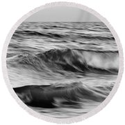 Soul Of The Sea Round Beach Towel