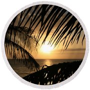 Round Beach Towel featuring the photograph Spirit Of The Dance by Sharon Mau