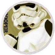 Star Wars Stormtrooper Round Beach Towel