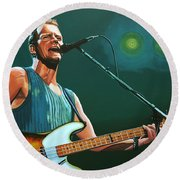 Sting Round Beach Towel