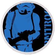 Stormtrooper Round Beach Towel