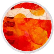 Sunrise Round Beach Towel