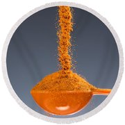 1 Tablespoon Cayenne Pepper Round Beach Towel
