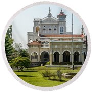 The Aga Khan Palace Round Beach Towel