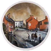 The Blackcountry Village Round Beach Towel
