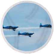 The Blades Aerobatic Team Round Beach Towel