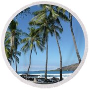 The Island Round Beach Towel