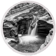 The Narrows Watkins Glen Round Beach Towel