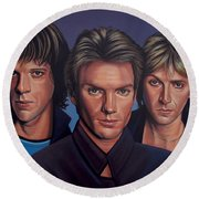 The Police Round Beach Towel
