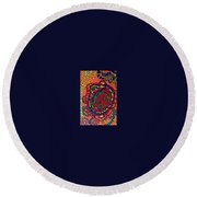Polar Shift. Round Beach Towel by Jonathon Hansen