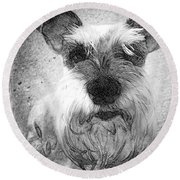 Trixie Round Beach Towel