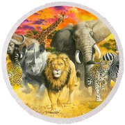 Africa's Finest Round Beach Towel
