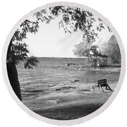 1000 Islands 1 Round Beach Towel