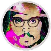 Johnny Depp Collection Round Beach Towel