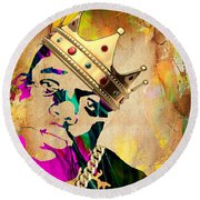 Biggie Collection Round Beach Towel