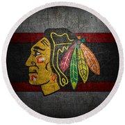 Chicago Blackhawks Round Beach Towel
