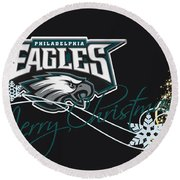 Philadelphia Eagles Round Beach Towel