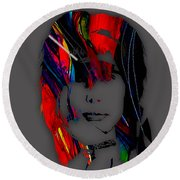 Steven Tyler Collection Round Beach Towel