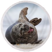130201p148 Round Beach Towel by Arterra Picture Library