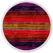 1342 Abstract Thought Round Beach Towel
