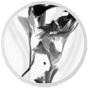 Abstract Series II Round Beach Towel