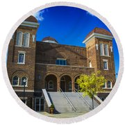 16th Street Baptist Church Round Beach Towel