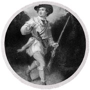 1700s 1770s A Morgans Rifleman Wearing Round Beach Towel