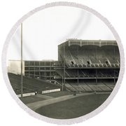 1923 Yankee Stadium Round Beach Towel