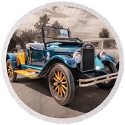 1925 Chevrolet Pickup Round Beach Towel