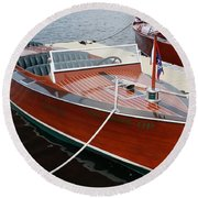 1930 Chris Craft Round Beach Towel