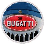 1930's Ettore Bugatti Round Beach Towel