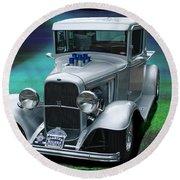 1932 Ford Pickup Round Beach Towel