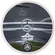 1937 Mercedes Benz Round Beach Towel