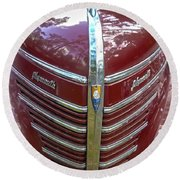 1939 Plymouth Round Beach Towel