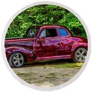 1939 Studebaker Champion Round Beach Towel