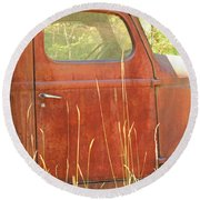 1941 International Truck Round Beach Towel