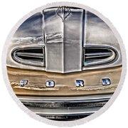 1948 Ford Pickup Round Beach Towel