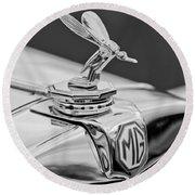1948 Mg Tc - The Midge Hood Ornament Round Beach Towel