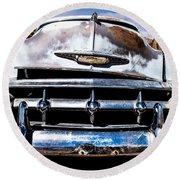 1953 Chevy Bel Air Round Beach Towel