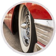 1956 Chevy Custom Round Beach Towel
