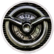 1956 Buick Special Two Round Beach Towel
