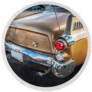 1957 Studebaker Golden Hawk   Round Beach Towel