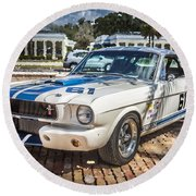 1965 Ford Shelby Mustang  Round Beach Towel