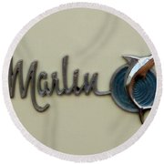 1965 Rambler Marlin Round Beach Towel