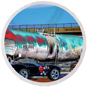 1965 Shelby Cobra II Round Beach Towel