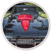1967 Chevrolet Corvette 427 435 Hp Round Beach Towel