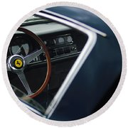 1967 Ferrari 275 Gtb-4 Berlinetta Round Beach Towel