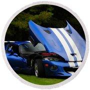 1997 Viper Hennessey Venom 650r 4 Round Beach Towel