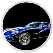 1997 Viper Hennessey Venom 650r 5 Round Beach Towel