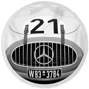 1952 Mercedes-benz W194 Coupe Round Beach Towel
